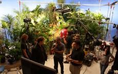 Co-directors on set
